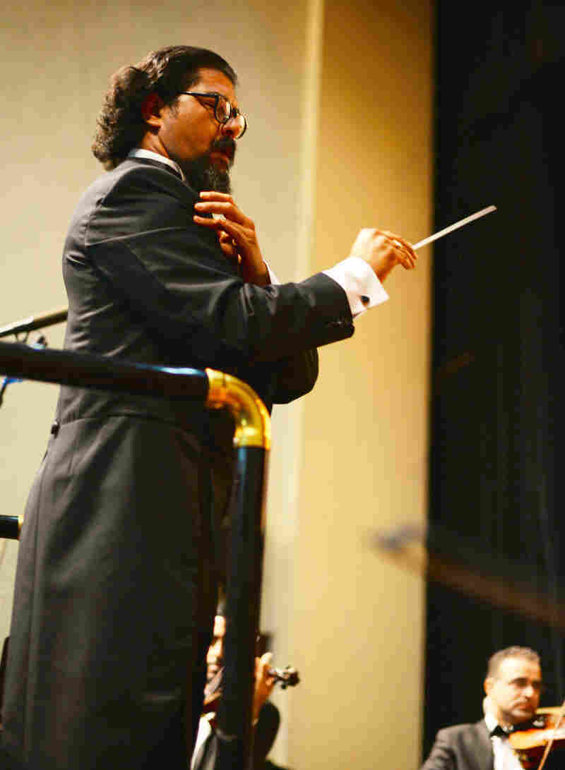 Iraq was once one of the most liberal states in the Mideast, says conductor Karim Wasfi.