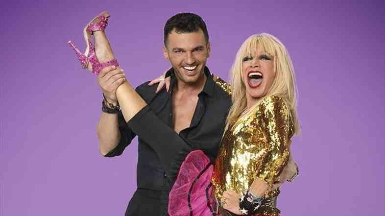 Dance pro Tony Dovolani and his partner, designer Betsey Johnson, are on Monday's premiere of Dancing With the Stars.