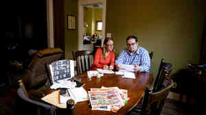 Conrad Goetzinger and Cassandra Rose struggle to pay their bills as $760 is garnished from their paychecks every two weeks by debt collectors. Twice, Goetzinger's bank account has been emptied by collectors after he failed