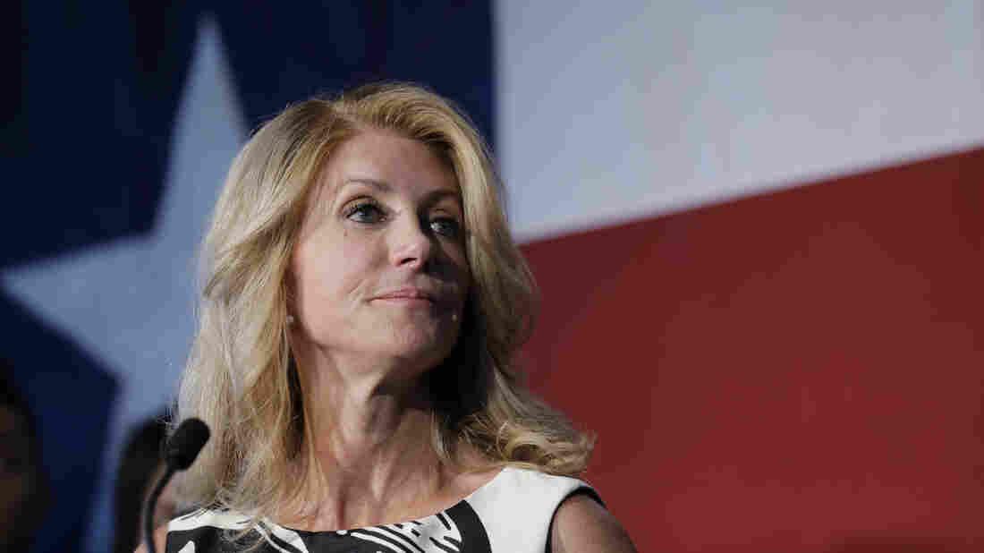 Texas Democratic gubernatorial candidate Wendy Davis has a new memoir, Forgetting to Be Afraid.