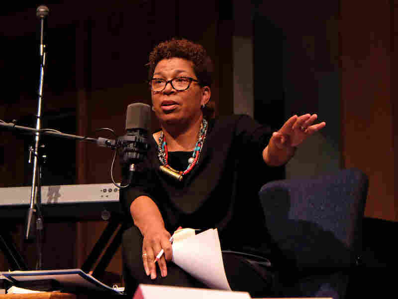 NPR's Michel Martin was invited by St. Louis Public Radio to moderate a community conversation around race, police tactics and leadership following the shooting death of Michael Brown.