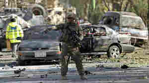 Suicide Bombing In Kabul Kills 3 NATO Troops