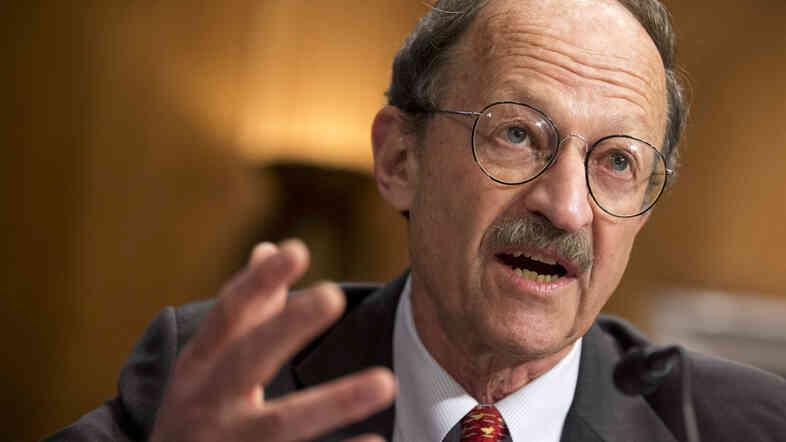 Dr. Harold Varmus, a Nobel Prize winner, cancer biologist and director of the National Cancer Institute.