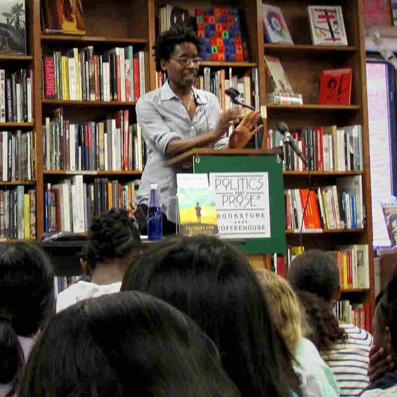 Author Jacqueline Woodson reads from her newest novel, Sept. 15.