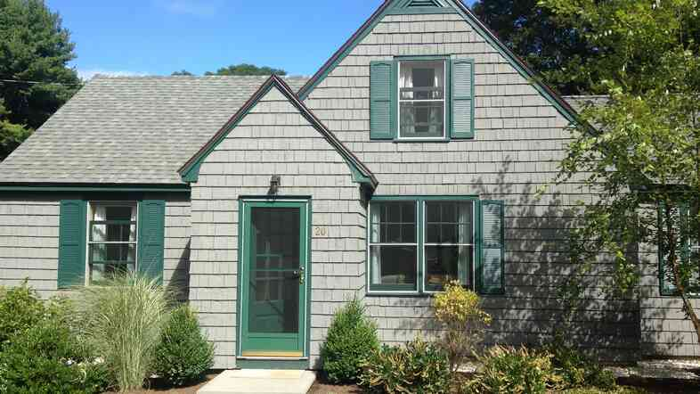 Amy Clampitt used her award money to buy a house in Lenox, Mass., hom