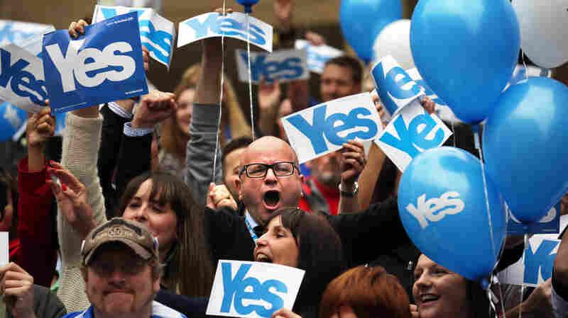 From Quebec To Kashmir, Separatists Watch Scotland Vote