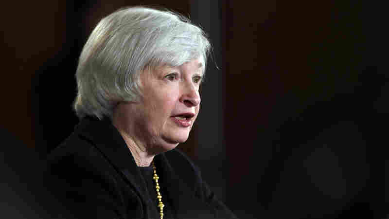 """There are still too many people who want jobs but cannot find them,"" Federal Reserve Chair Janet Yellen said Wednesday."