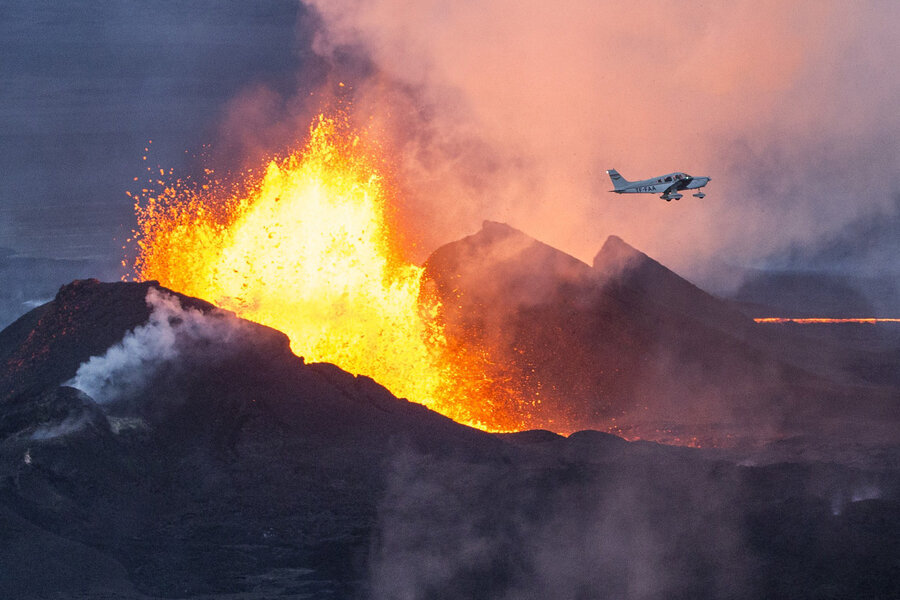 Massive Volcanic Eruption Is Making Iceland Grow The TwoWay NPR - 14 amazing volcanic eruptions pictured space