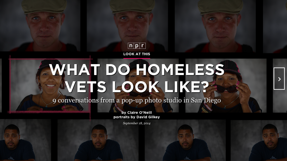 Look At This: Portrait Of A Homeless Veteran