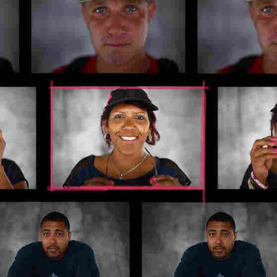 What do homeless veterans look like? We explored this question in nine conversations with veterans Dan Martin (top), Vanessa Messner, Marcus Bennett and more, from a pop-up portrait studio in San Diego.