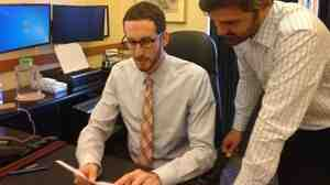San Francisco Supervisor Scott Wiener (left) says he started taking a drug to prevent HIV infection earlier this year.
