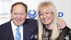 Sheldon Adelson and his wife, Miriam, gave $92.8 million to conservative super PACs and related groups in the 2012 election, according to the Center for Responsive Politics.