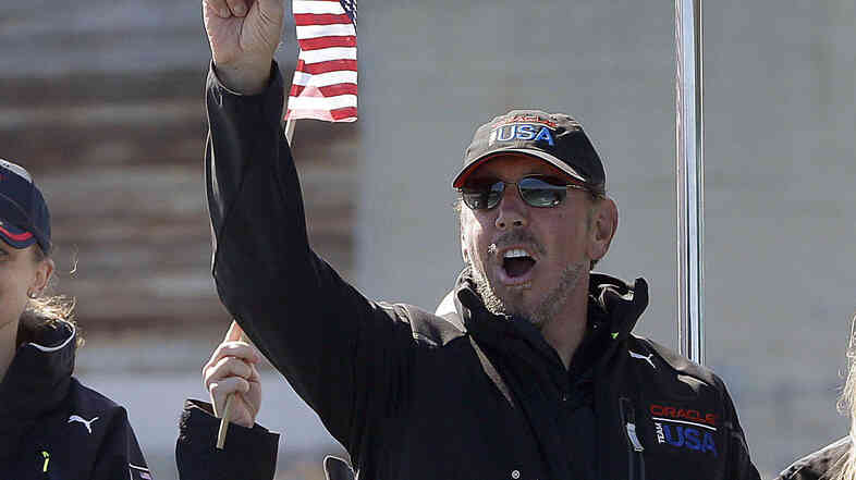 Larry Ellison is stepping down as Oracle's CEO.