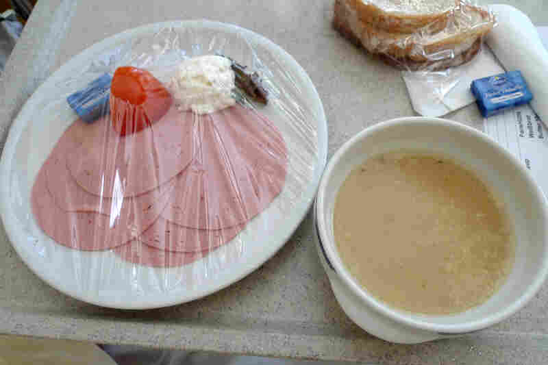 "Austria: ""I think I actually got depressed from how bad it was,"" Flickr user girl_onthe_les said about this hospital lunch served up in Austria in 2012. Us too."