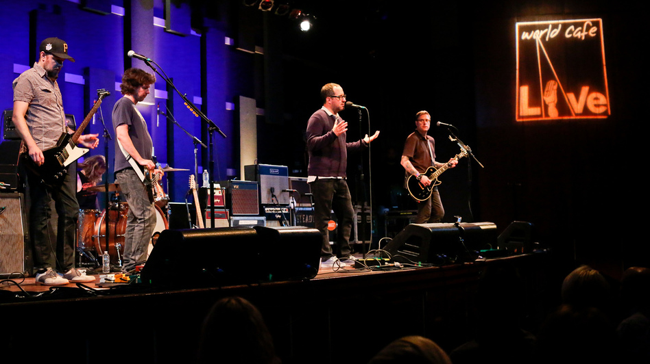 The Hold Steady. (WXPN)