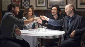 Jason Bateman, Tina Fey, Adam Driver and Corey Stoll play the quarrelsome Altman siblings, each with their own share of emotional baggage.