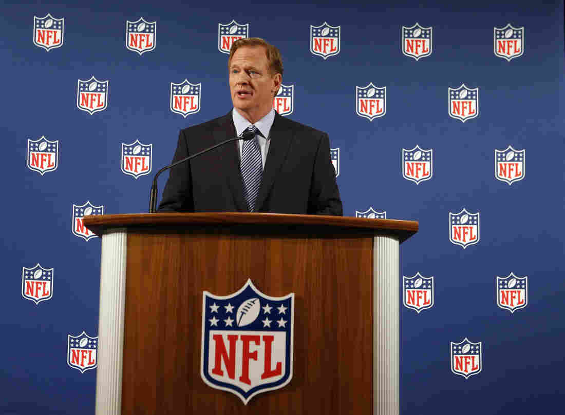 "NFL Commissioner Roger Goodell held a news conference on Friday, during which he said, ""I got it wrong on the handling of Ray Rice. ... But now I will get it right."""