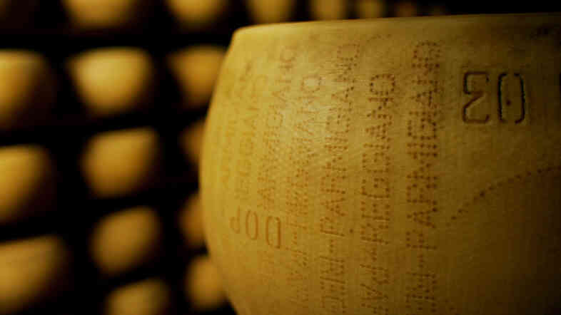 Technically, it's against the law for Russian restaurants to buy top-notch Italiano Parmigiano-Reggiano. But that's nothing a little creative labeling can't get around.