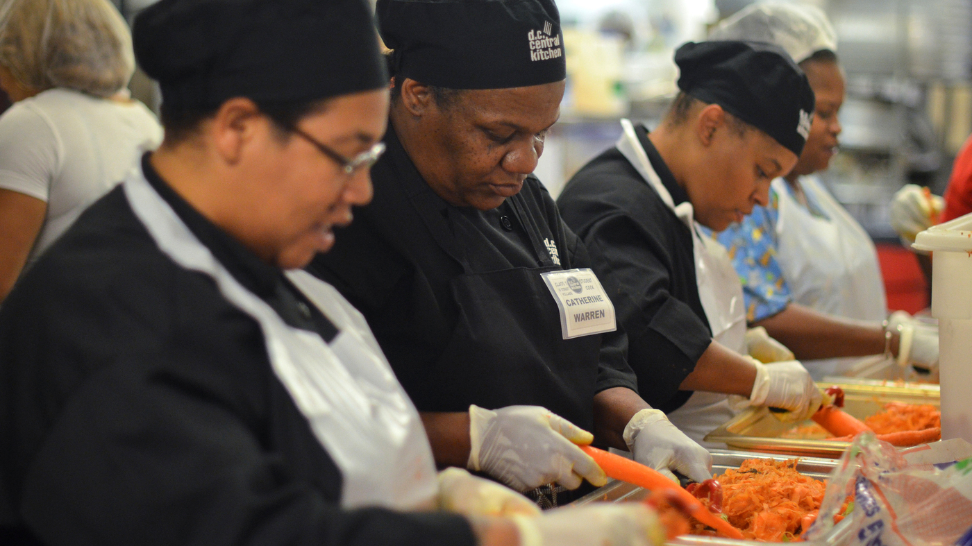 Beyond Charity: Turning The Soup Kitchen Upside Down : The Salt : NPR