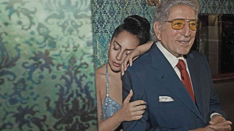 Tony Bennett and Lady Gaga's collaborative album is called Cheek To Cheek.