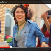 """""""Happy We Are from Tehran,"""" a video remake of Pharrell Williams' song """"Happy"""" that went viral earlier this year."""
