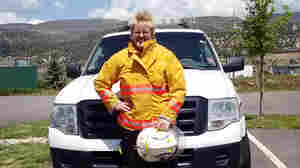 "Chief Brita Horn of the Rock Creek Volunteer Fire Department in Colorado says the department is ""always short-handed."""
