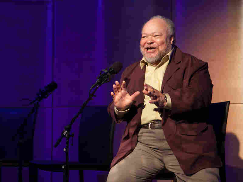 Stephen McKinley Henderson performed a monologue from August Wilson's play Joe Turner's Come And Gone.