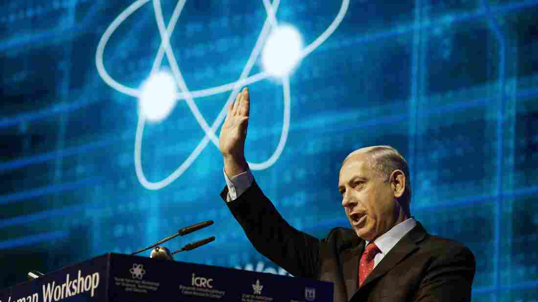 """At a cybersecurity conference in Tel Aviv on Sept. 14, Israeli Prime Minister Benjamin Netanyahu accused the 43 Unit 8200 refusniks of """"baseless slander"""" which """"should be condemned."""""""