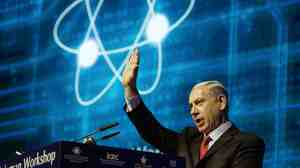 "At a cybersecurity conference in Tel Aviv on Sept. 14, Israeli Prime Minister Benjamin Netanyahu accused the 43 Unit 8200 refusniks of ""baseless slander"" which ""should be condemned."""