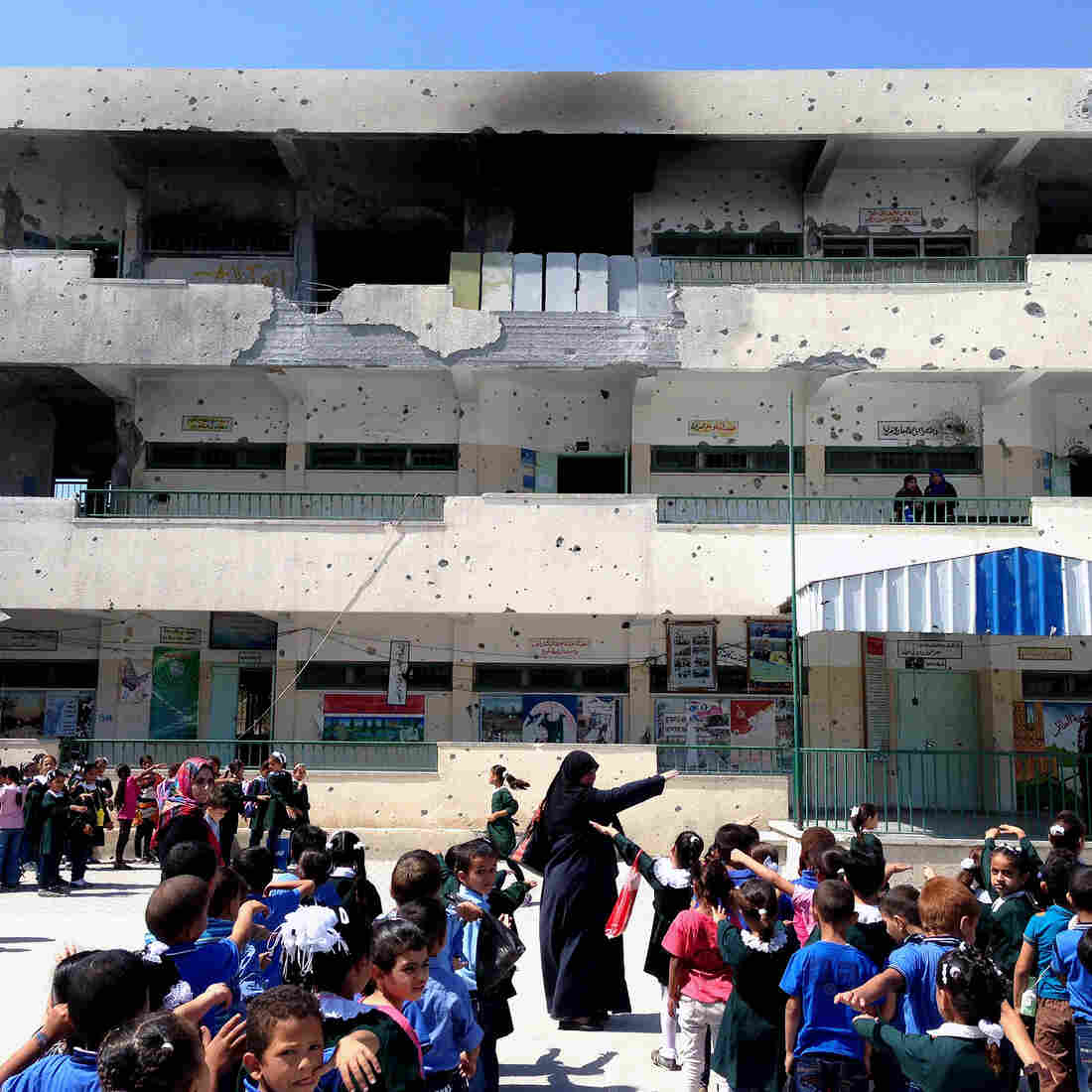 In The Gaza Strip, The School Year Gets Off To A Rocky Start