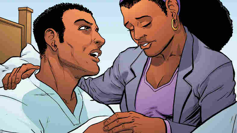 Recall and Given recasts the story of David Rector and Roz Alexander-Kasparik as a superhero comic.