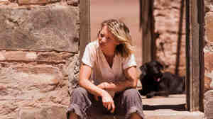 Mia Wasikowska plays Robyn Davidson, a woman whose real-life journey across the Australian desert is depicted in Tracks.