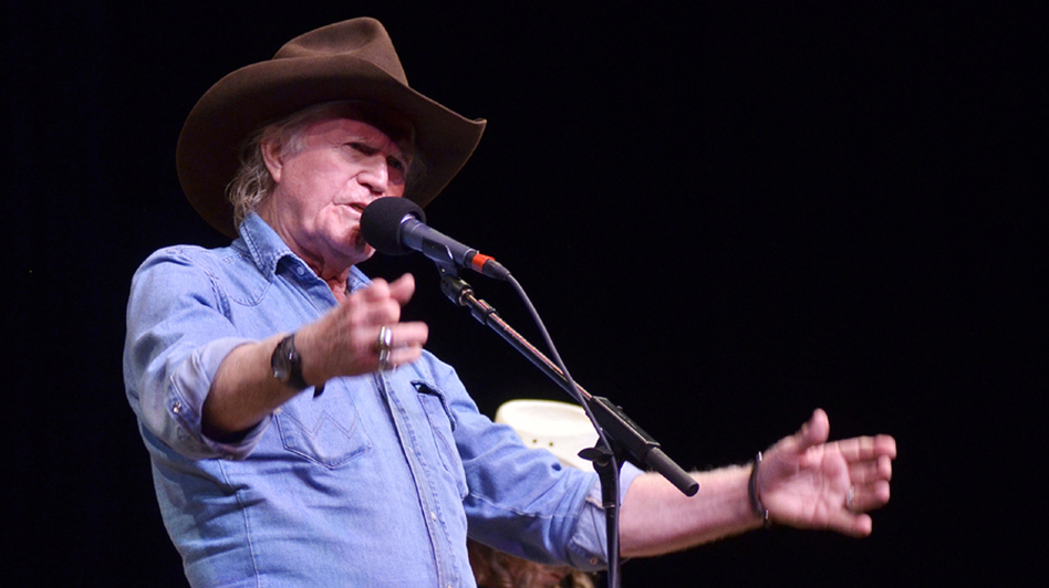 Billy Joe Shaver. (Mountain Stage)