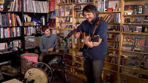 Tiny Desk Concert with Tweedy on September 8, 2014.
