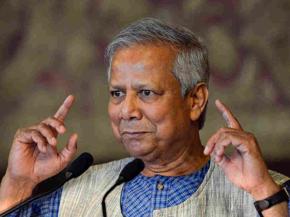 Nobel Peace Prize winner and microcredit pioneer Muhammad Yunus is a champion of big ideas and small loans.