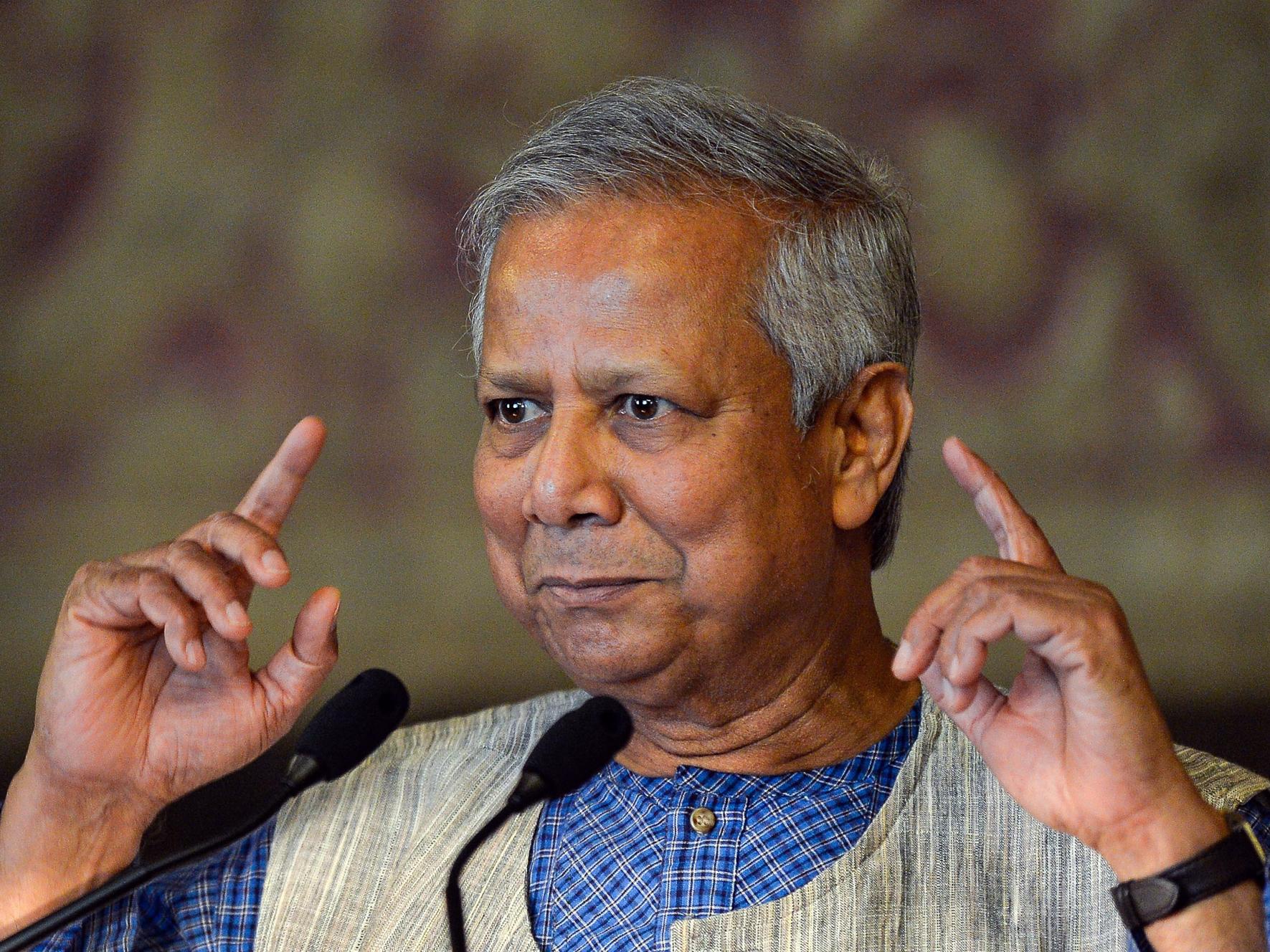 Q&A with Muhammad Yunus