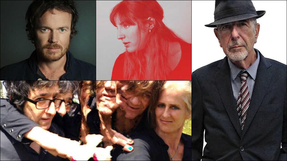 New Mix: Damien Rice (Premiere), Leonard Cohen, Caroline Rose, Afternoons