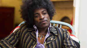 André Benjamin plays Jimi Hendrix in the new film Jimi: All Is By My Side.