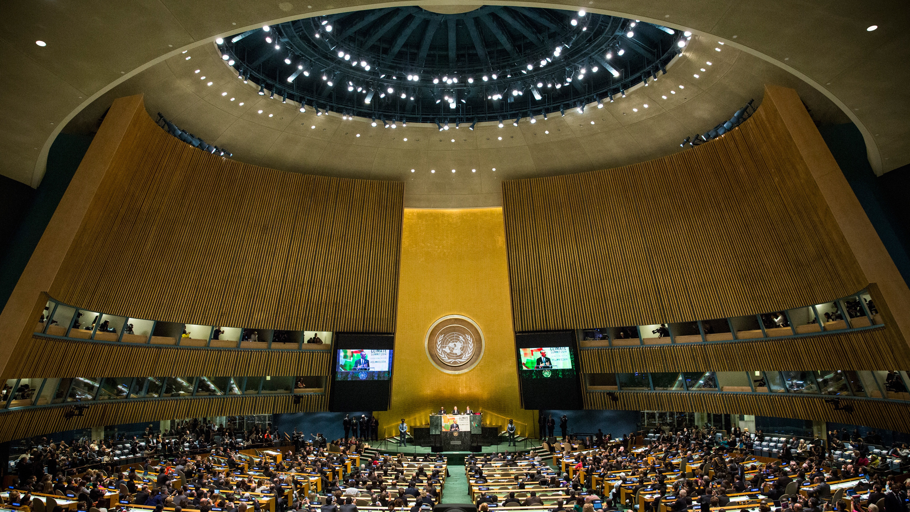 Obama Calls For More Ambitious Approach To Climate Change In U.N. Speech