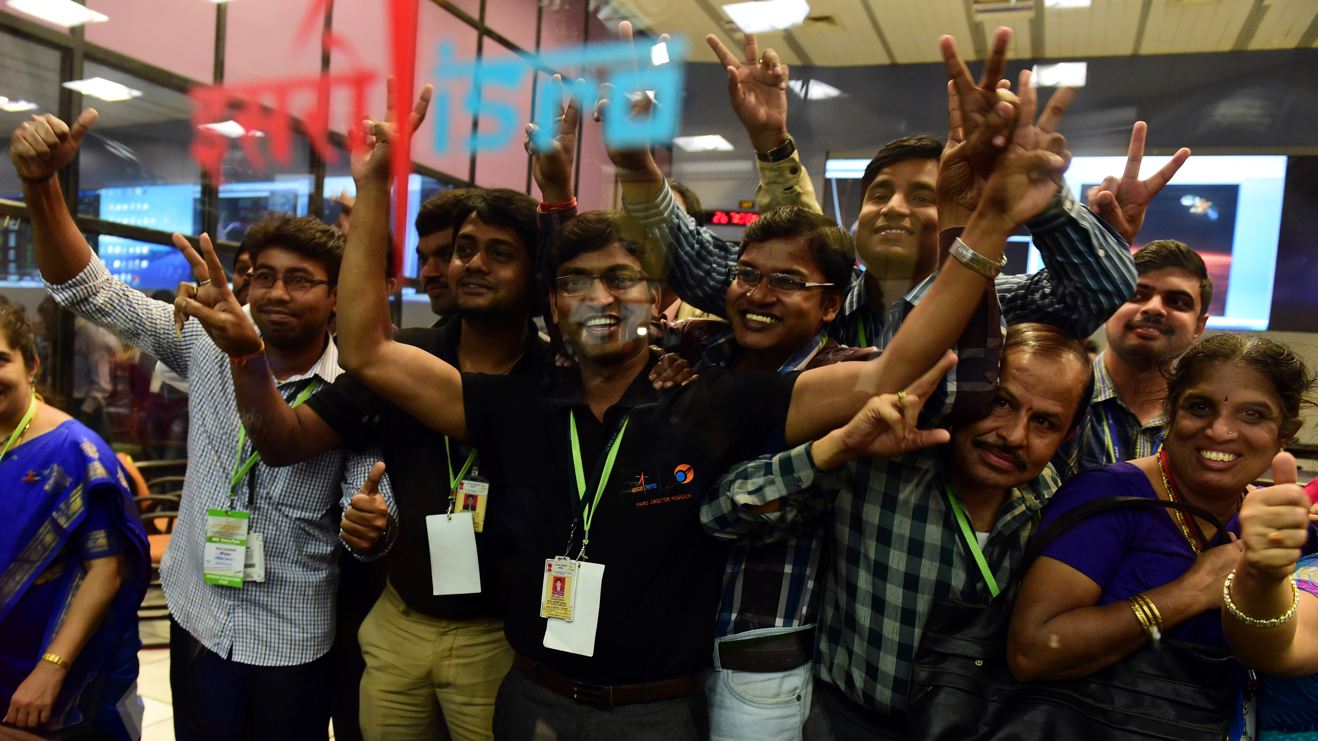 Success! India's First Mars Probe Is In Orbit And Working