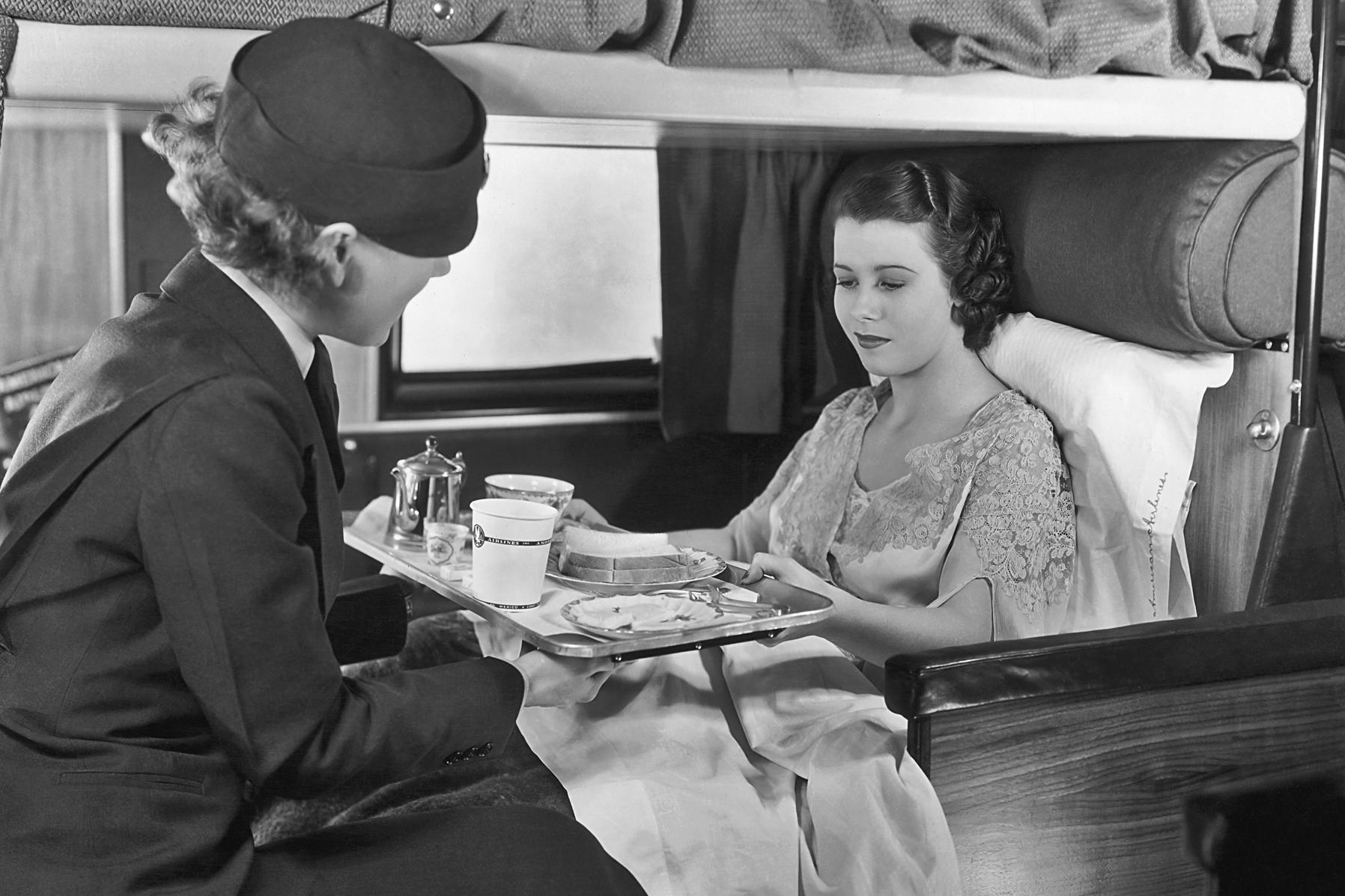 A Bumpy Ride: Airplane Food Through The Decades | NCPR News