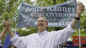 Illinois Republican gubernatorial candidate Bruce Rauner says under certain conditions, he would support a higher minimum wage in his state.