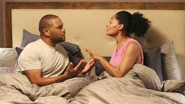 Anthony Anderson and Tracee Ellis Ross star in ABC's Black-ish.