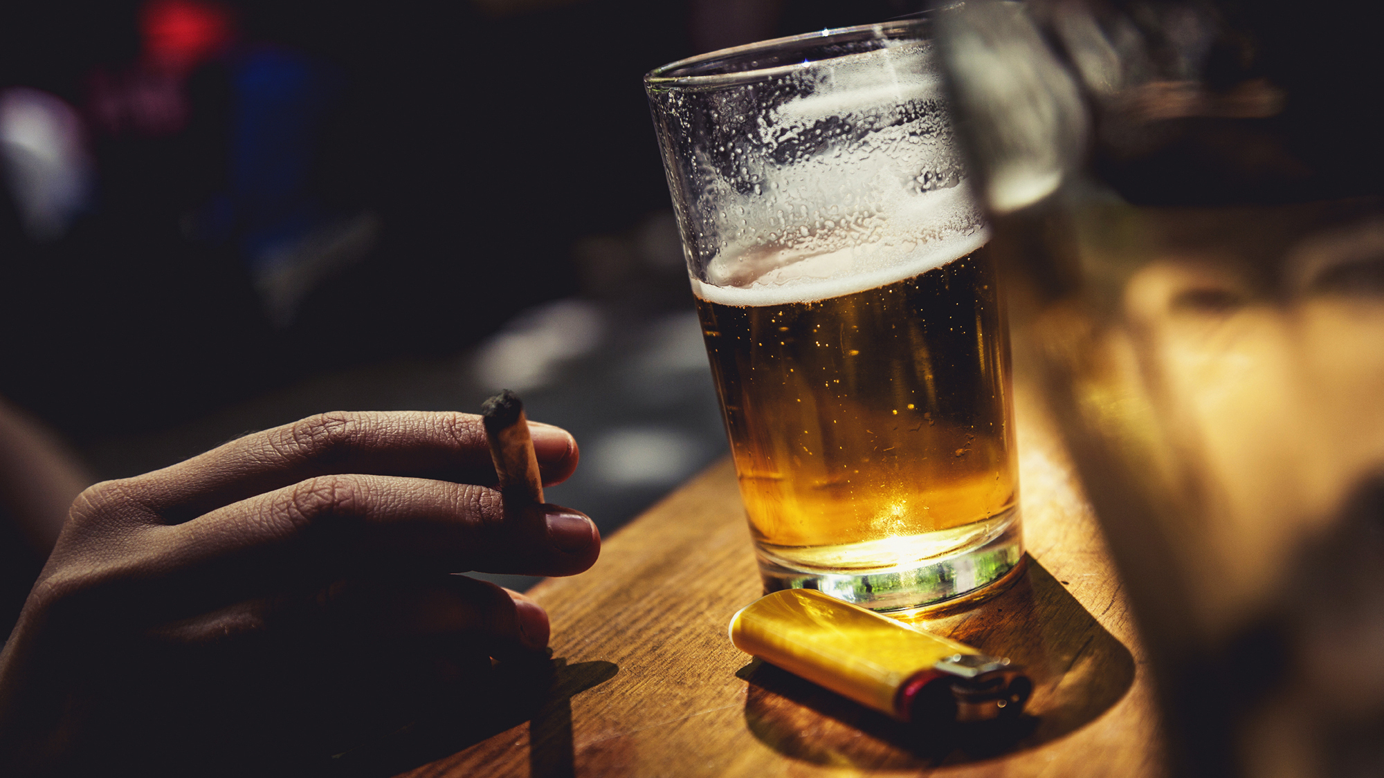 consuming alcohol and smoking Dear reader  it's impossible to determine whether drinking alcohol or smoking cigarettes is worse for one's health because the ways they're.