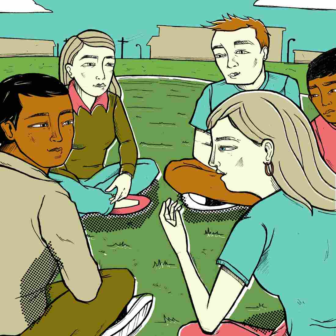 Hearing from older students that high school gets better may help teenagers avoid depression.