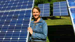 Vera Cole is president of the Mid-Atlantic Renewable Energy Association, a group arguing against proposed rules in Pennsylvania that would put stricter limits on how much grid-connected solar power homeowners can produce on their property.