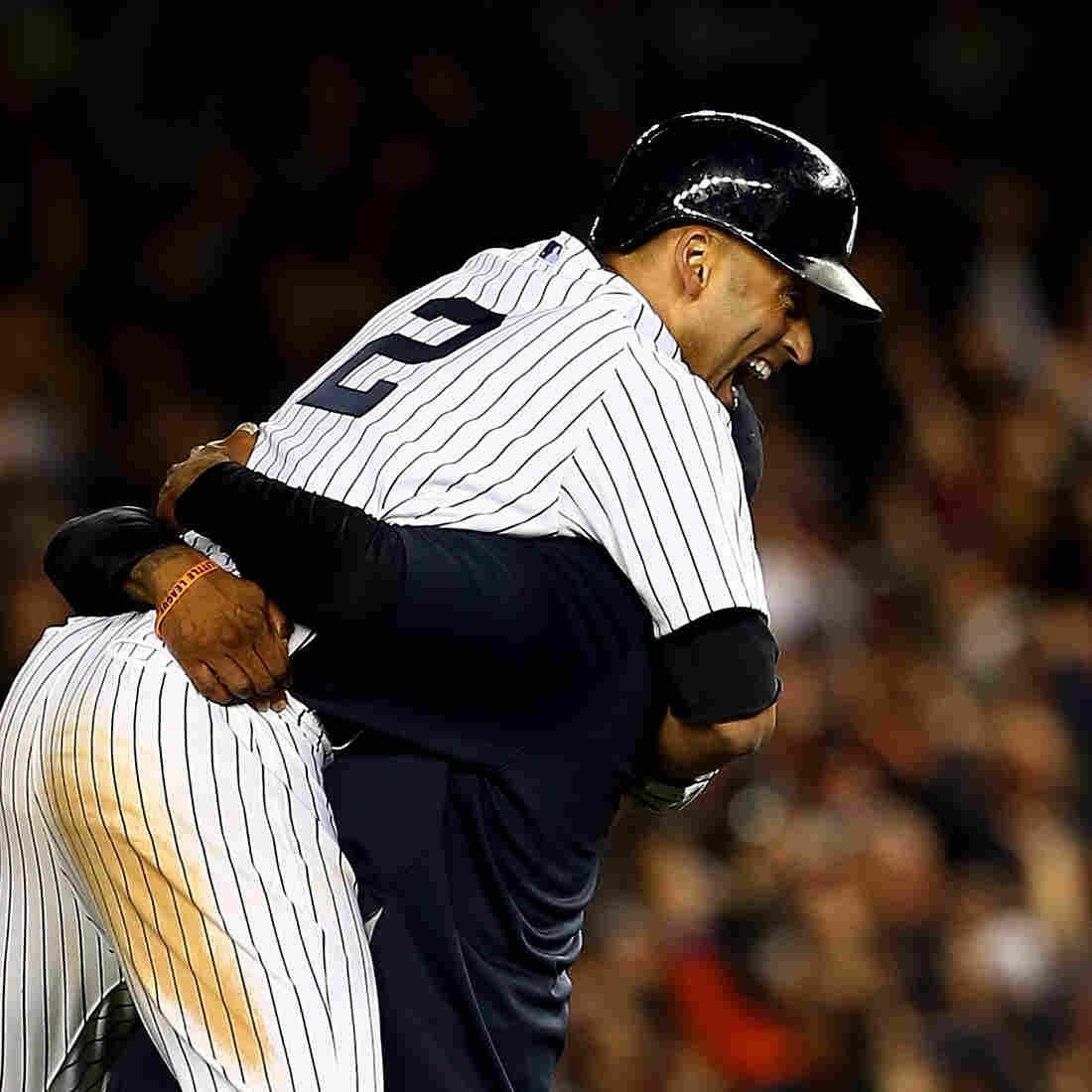 Photos: Jeter Leaves Yankee Stadium With One Last Game-Winning Hit