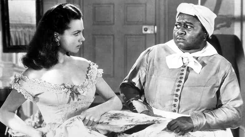 Has Gone with the Wind withstood the test of time? Above, Vivien Leigh (left) as Scarlett O'Hara and Hattie McDaniel as Mammy.