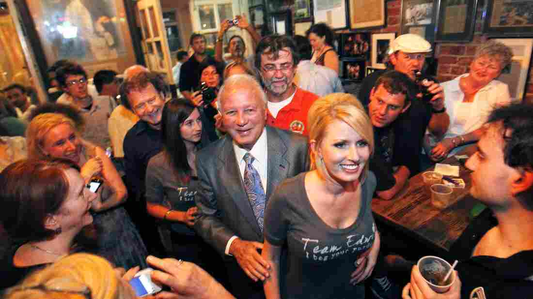 Edwards and his wife, Trina, arrive to serve as honorary bartenders at a New Orleans bar in 2011, shortly after Edwards finished his eight-year prison sentence for bribery and extortion. Louisiana has a reputation for loving roguish politicians.