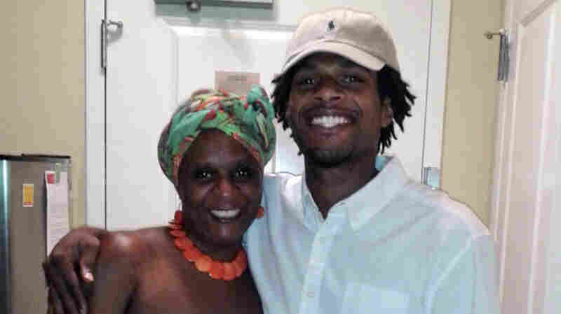 John Crawford III with his mother, Tressa Sherrod, in a photo released by the family. A special grand jury declined to indict officers in the fatal shooting of Crawford by police in an Ohio Wal-Mart in August.